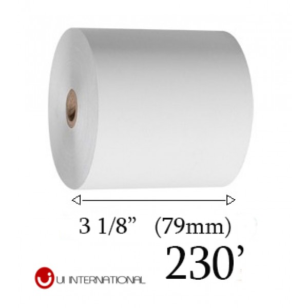 Thermal Paper Roll 3 1/8 230